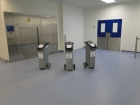Cleanroom decontamination with VHP