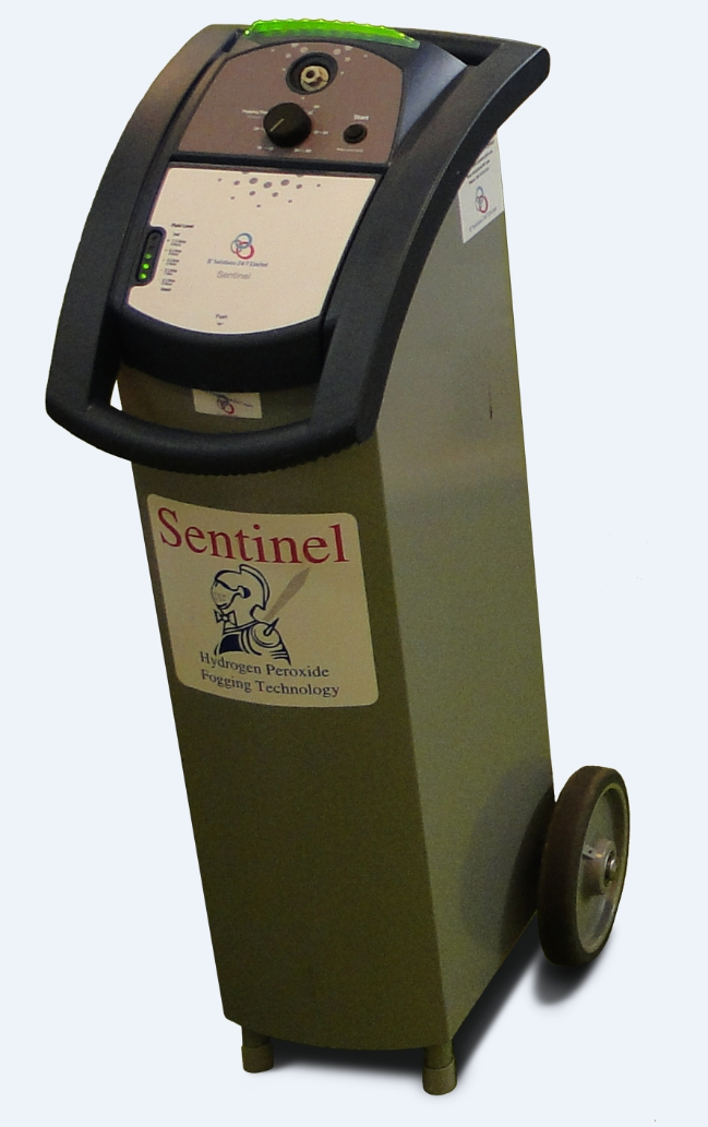 Decontamination Room Design: Sentinel Fogging Machine