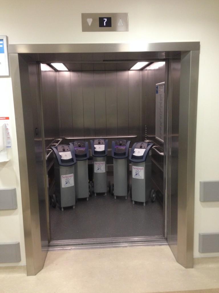 Decontamination Room Design: IHP Machines In The Lift